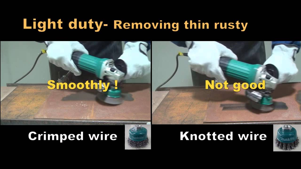 Makita ACC Wire Brush For Grinder